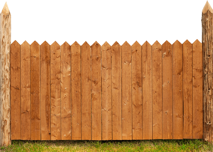 Wood Fence Privacy Secured